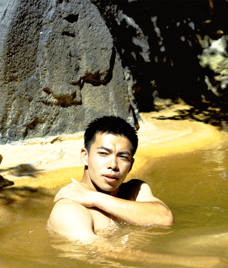 Mysterious Hot Spring in a Cave
